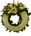 Q02 西式悼念花圈