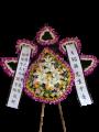 D07 中式悼念花圈