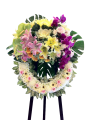 Q01 西式悼念花圈