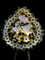 D06 中式悼念花圈